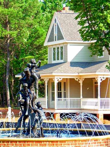 Veranda Park Fountain Madison GA
